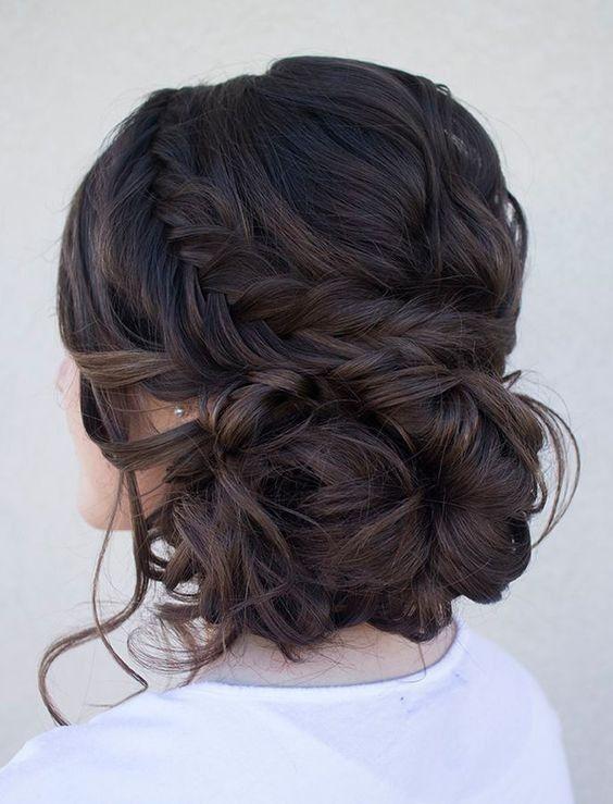 Hochzeit - Braided Curls