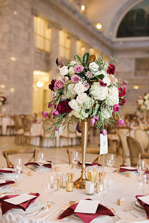 Mariage - An Elegant Fall-Hued Wedding In Salt Lake City