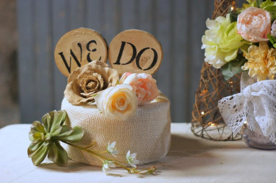 Mariage - Wedding Cake Topper, Wedding Decoration, Wood Cake Topper, Rustic Cake Topper, Cake Decoration, Rustic Wedding, Wedding Reception, We Do