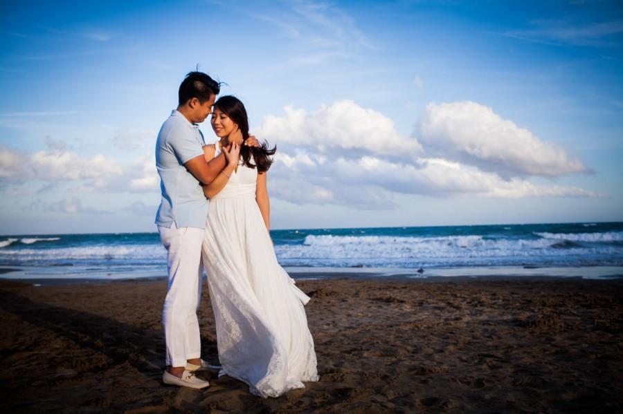 Wedding - Beach wedding dress, bridal gown, empire waist wedding dress, destination bridal dress, lace wedding dress, beach bridal gown, beach wedding