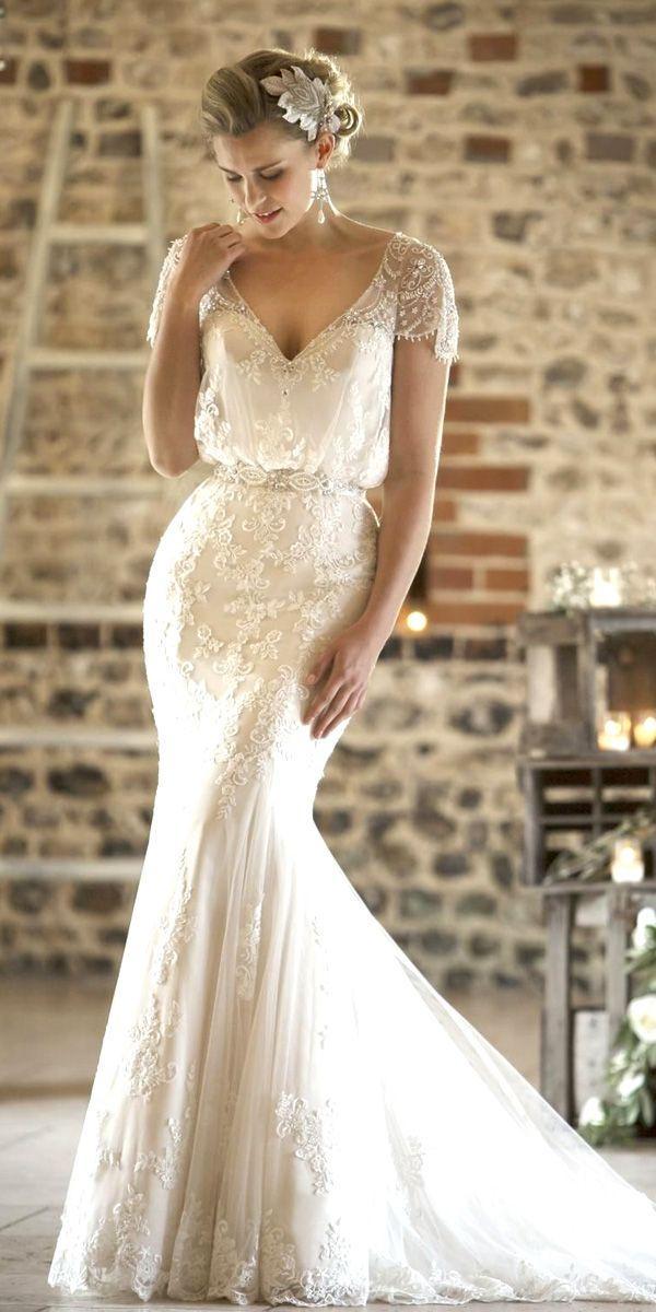 Wedding - 30 Vintage Inspired Wedding Dresses