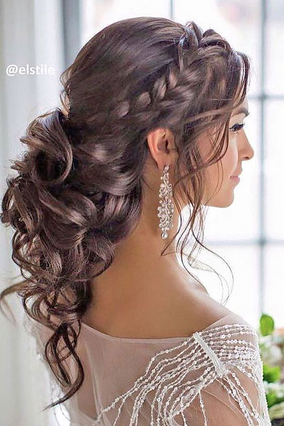Awesome Semi Formal Hairstyles For Curly Hair Pictures Styles
