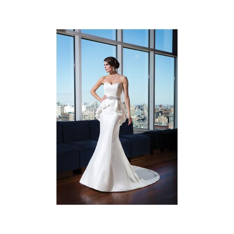 Wedding - Vestido de novia de Justin Alexander Signature Modelo 9739_066 - 2014 Otras Palabra de honor Vestido - Tienda nupcial con estilo del cordón