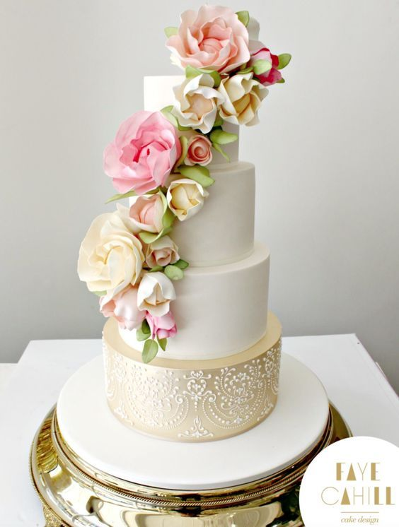Düğün - Faye Cahill Cake Design Wedding Cake Inspiration