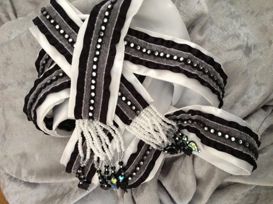 Свадьба - BLACK TIE SPARKLE - Black and White and Bling