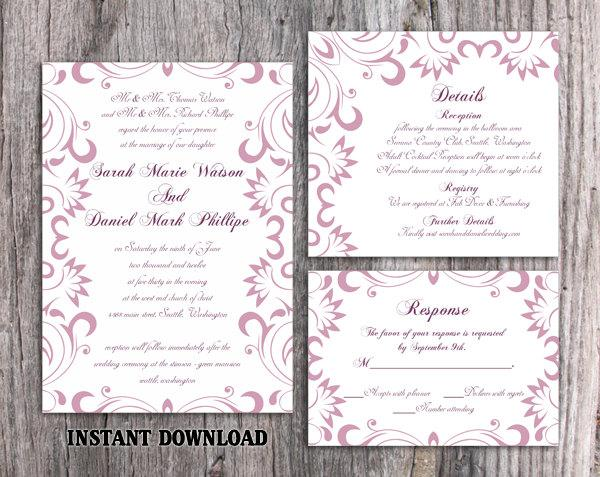 wedding invitation template download printable wedding invitation editable lavender invitation elegant invites purple wedding invitation diy 1590 usd wedding invitation template download printable wedding invitation,Lavender Wedding Invitation Templates