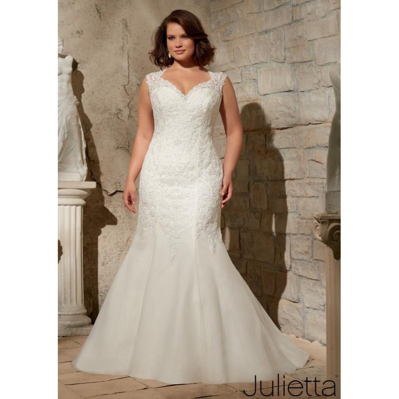 Свадьба - White Julietta Bridal by Mori Lee 3175 - Brand Wedding Store Online