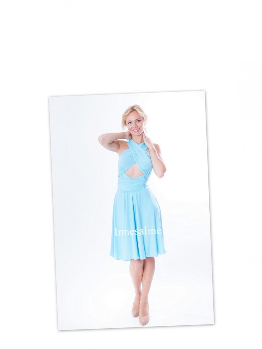 زفاف - Blue Pool water   Infinity  Dress   Coctail dress