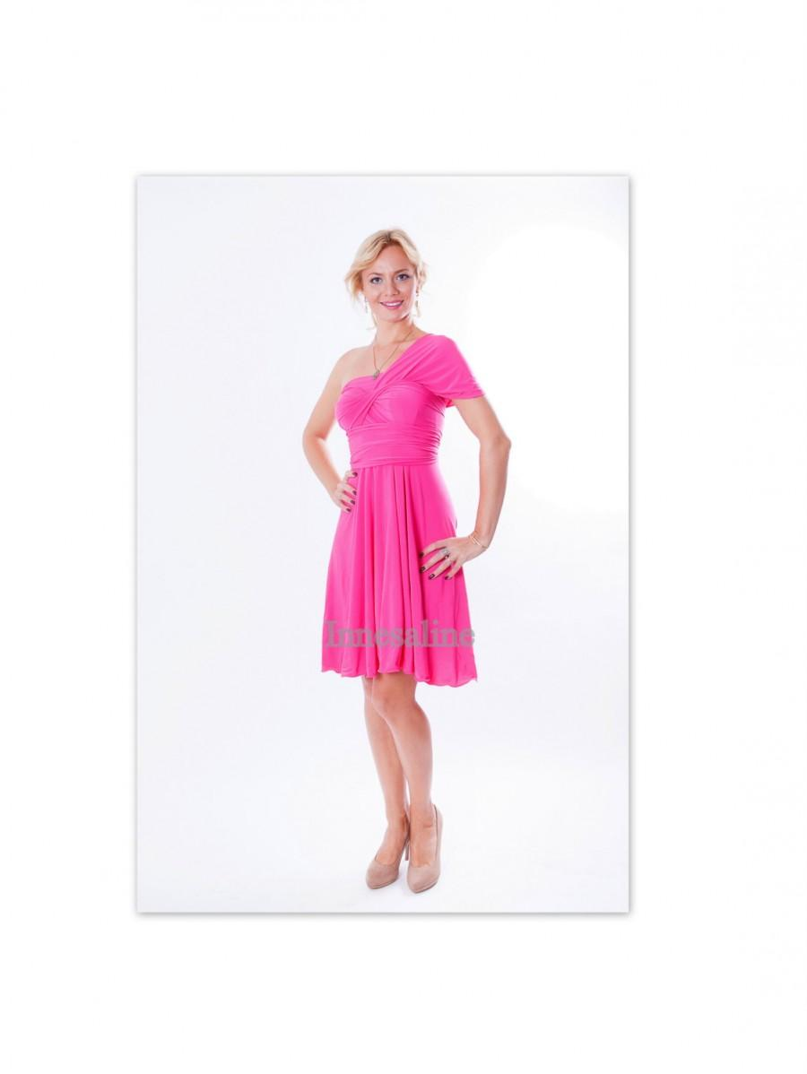 Свадьба - Pink  Infinity dress  Convertible Dress Coctail dress