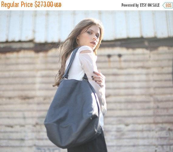 sale black leather bag women open shoulder bag tote leather bag lucy bag 2680298 weddbook. Black Bedroom Furniture Sets. Home Design Ideas