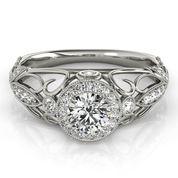 vintage diamond engagement ring unique diamond ring art deco
