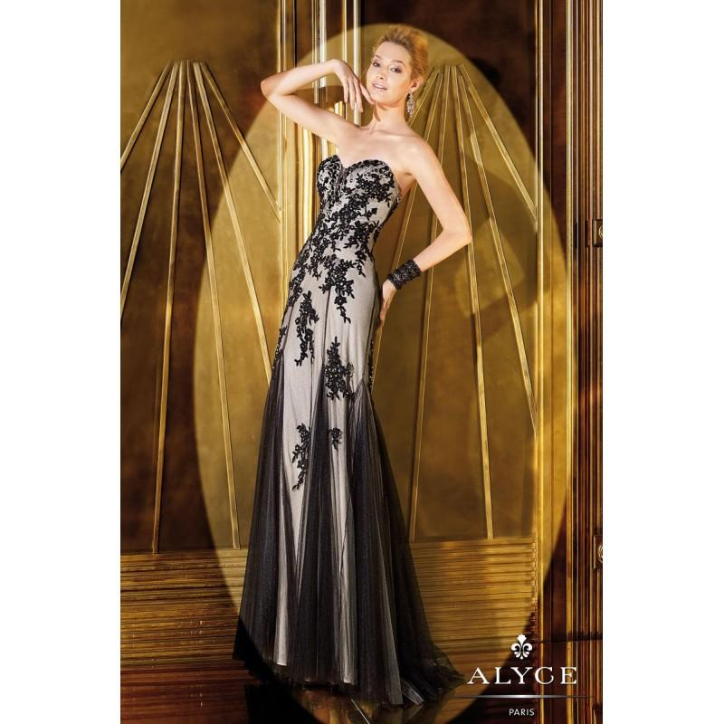 Wedding - Alyce Paris Black Label Alyce Prom 6269 - Fantastic Bridesmaid Dresses