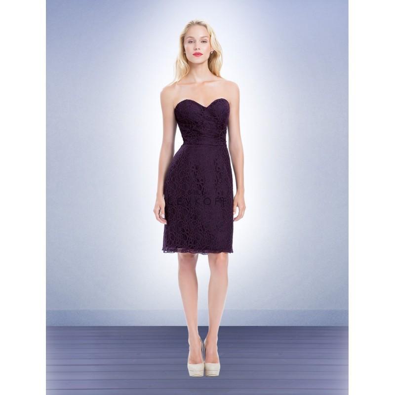 Bill levkoff 1157 strapless sweetheart short bridesmaid for Short wedding dress sale