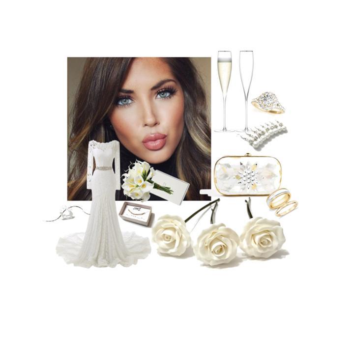 Mariage - Best White wedding White Roses Hair pins, White