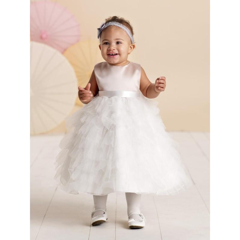 Mariage - Ivory/Blush Joan Calabrese for Mon Cheri 110306B - Brand Wedding Store Online