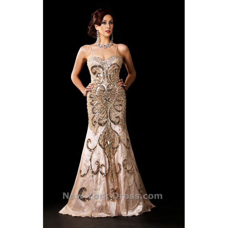 Wedding - Unique Couture 9054 - Charming Wedding Party Dresses