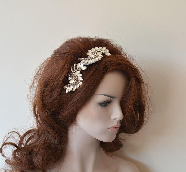 Mariage - Bridal Hair Comb, Wedding Rhinestone Comb, Rhinestone Hair comb, Bridal Hair Accessories, Wedding Hair Accessories