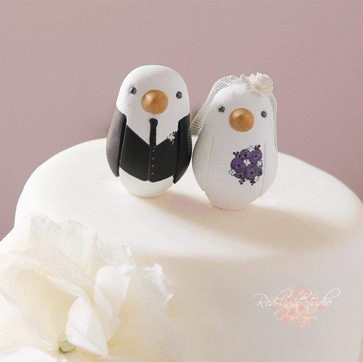 Wedding - Love Bird Cake Topper - Wedding - Small