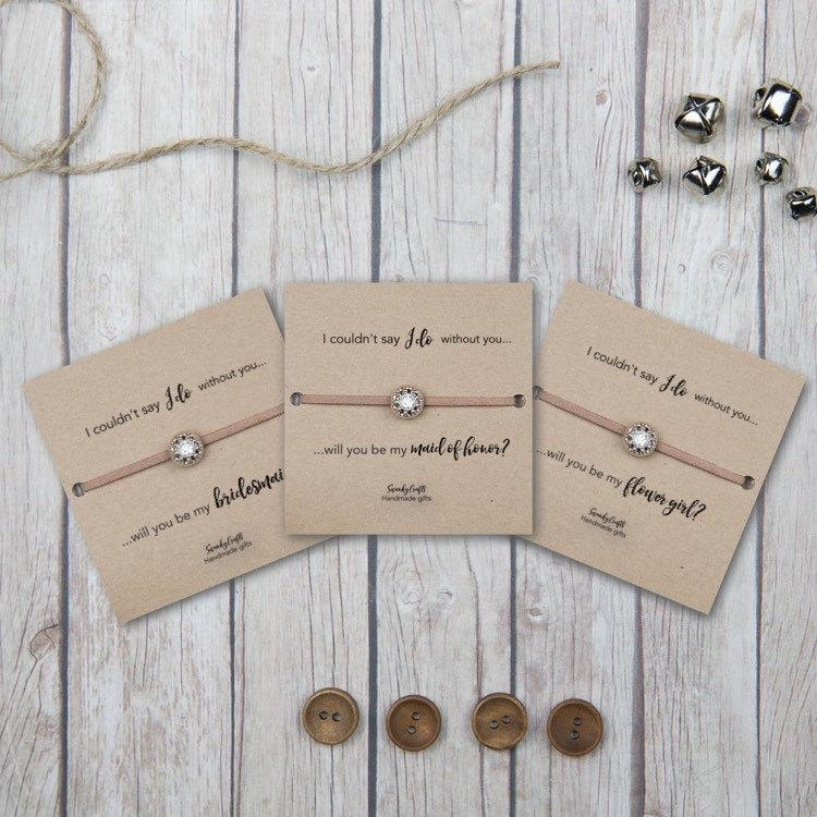 Custom Bridesmaid Bracelets Bridesmaid Gifts Cheap Bridal Party