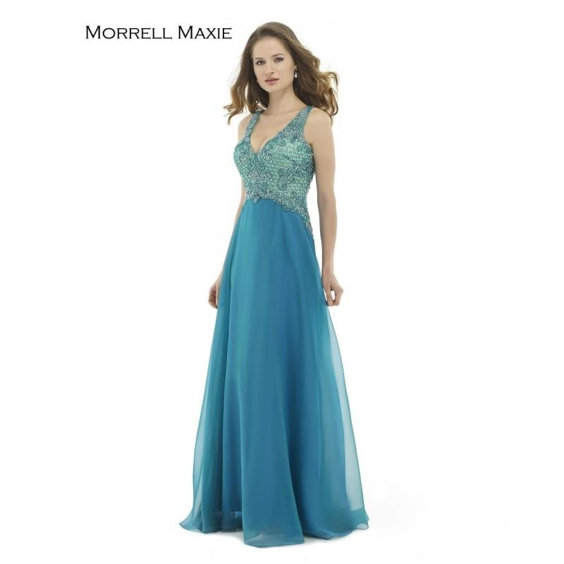 Mariage - Turq/Green Morrell Maxie 15164 Morrell Maxie - Top Design Dress Online Shop