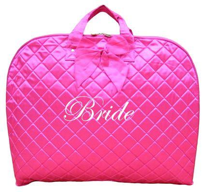 Personalized Monogrammed Hanging Garment Bags Bridal Party Gift Wedding Bag Honeymoon Luggage Women Travel Gifts Bachelorette Favor