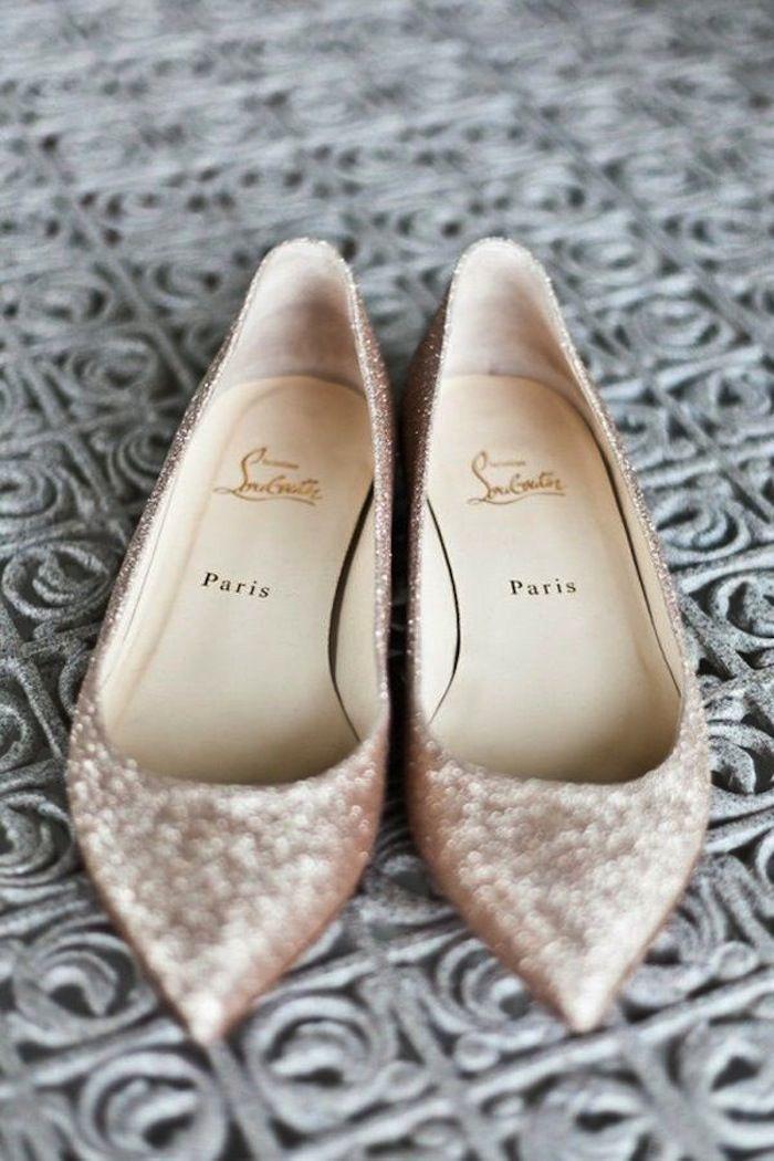 Свадьба - Flat Wedding Shoes For Stylish Comfort