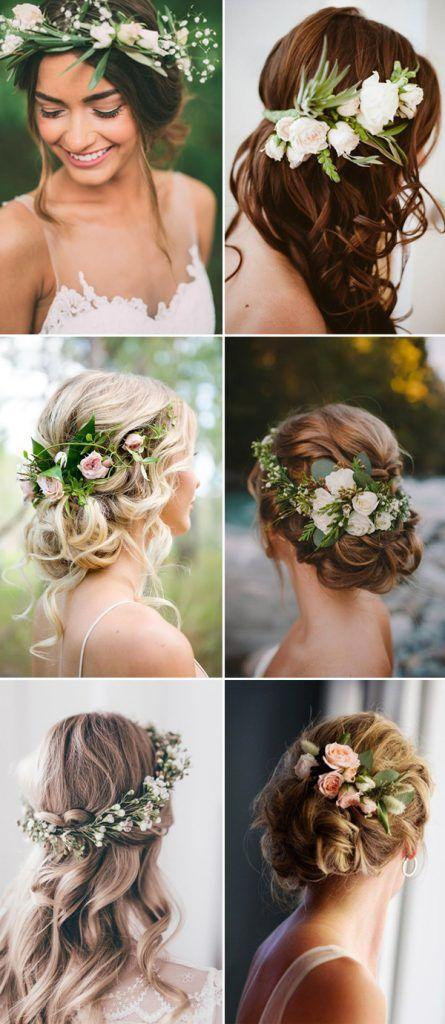Mariage - 2017 New Wedding Hairstyles For Brides And Flower Girls
