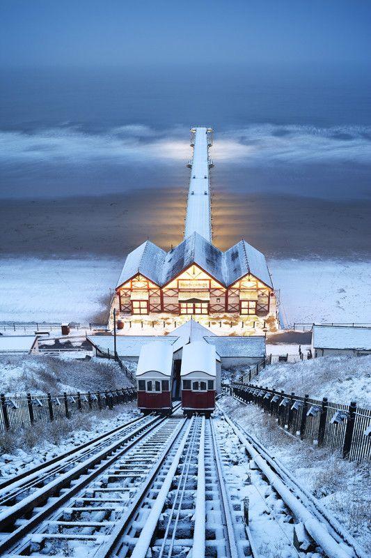 Wedding - Saltburn Funicular In The Snow