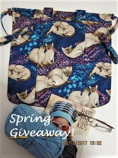 Düğün - SPRING GIVEAWAY - Not for Sale! Mark this Catnap Caddie as a Favorite to enter our 4/1/2017 Drawing!