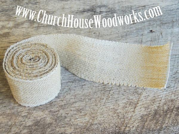 Wedding - Jute Burlap Ribbon