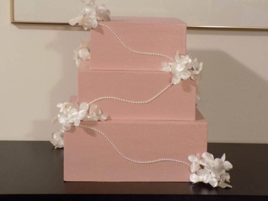 Rose Gold Wedding Card Box Gift Card Box Wedding Card Box