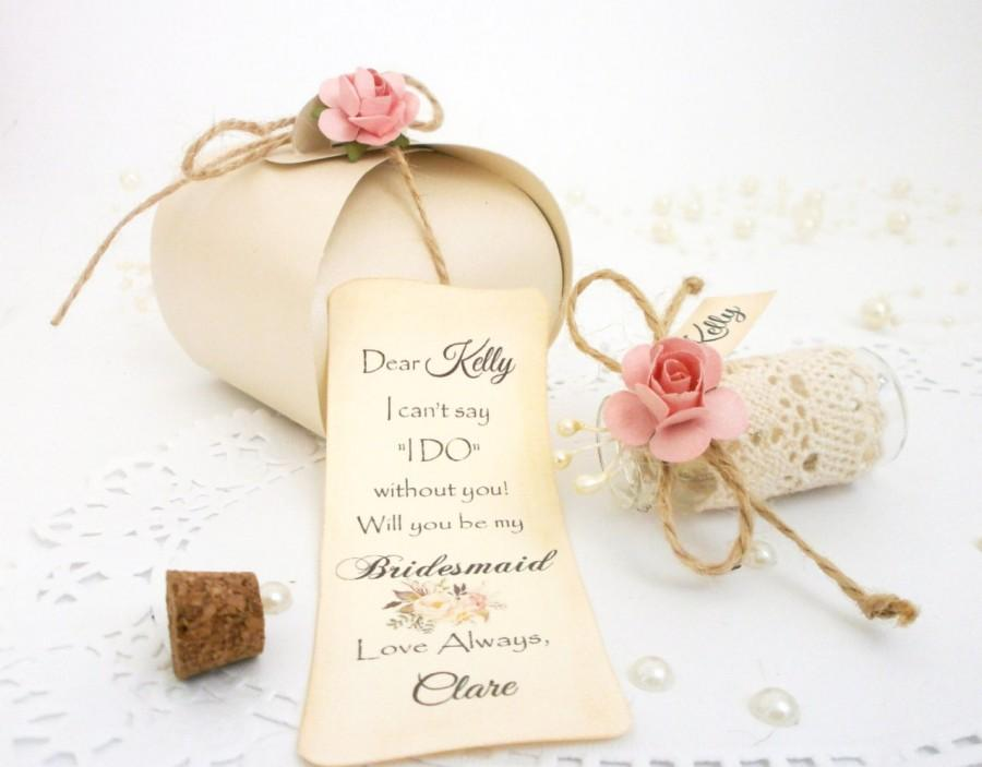 Bridesmaid Proposal Will You Be My Bridesmaid Invitation Message In ...