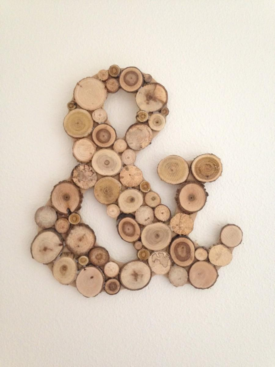 Ampersand Wall Decor ampersand, ampersand sign, wood ampersand sign, decorative wall