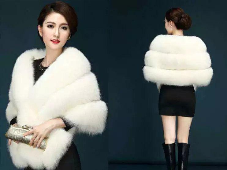Свадьба - Dark gray fur shawl, Ivoryan fur bridal wrap, dark red Wedding Fur shrug, black faux Fur Wrap, Bridal Faux Fur Stole Fur Shawl Cape,