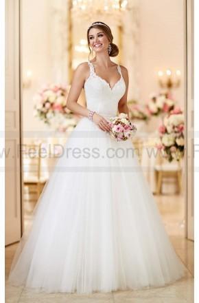 Mariage - Stella York Convertible Wedding Dress Style 6223