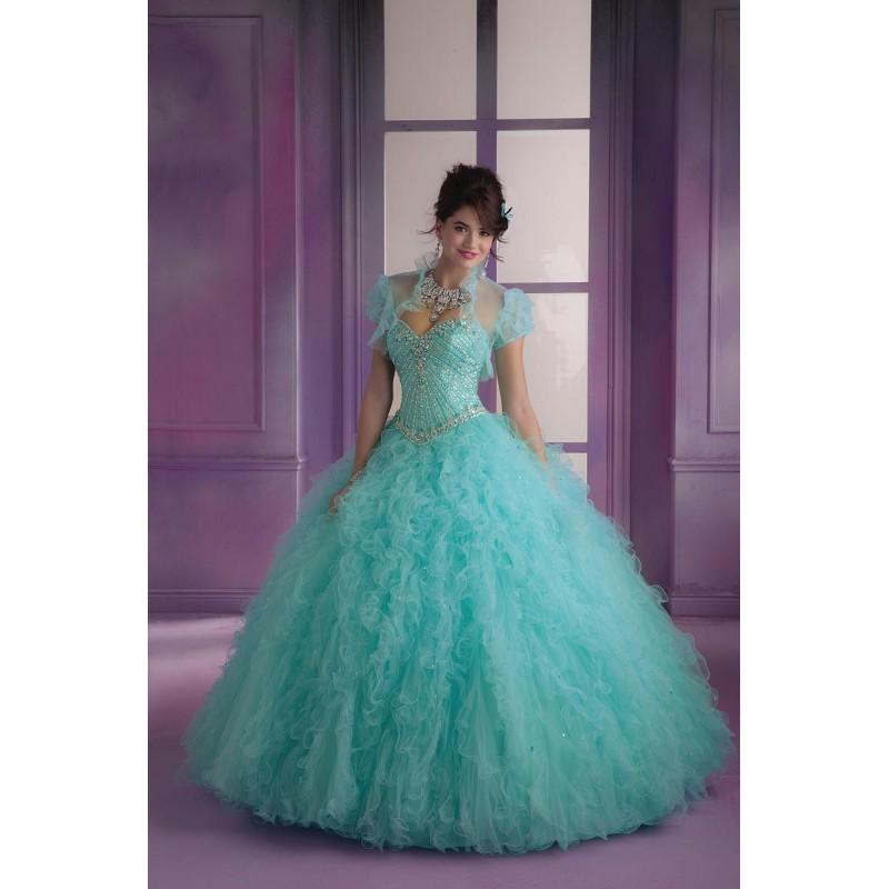 Wedding - Vizcaya 89002 Ruffle Tulle Quinceanera Dress - Brand Prom Dresses