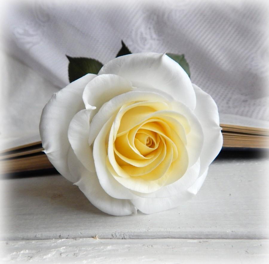 White Bridal Bouquet Flowers In Vase Wedding Centerpiece Floral