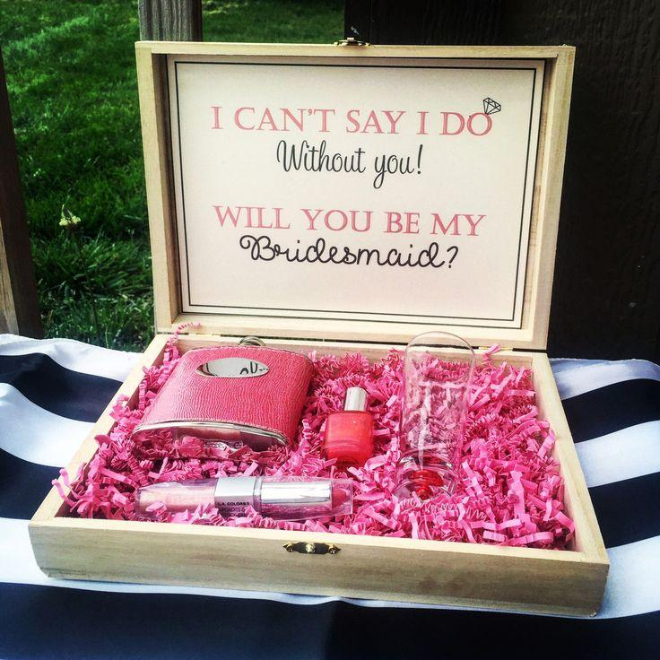 Düğün - Bridesmaid Box - Will You Be My Bridesmaid?