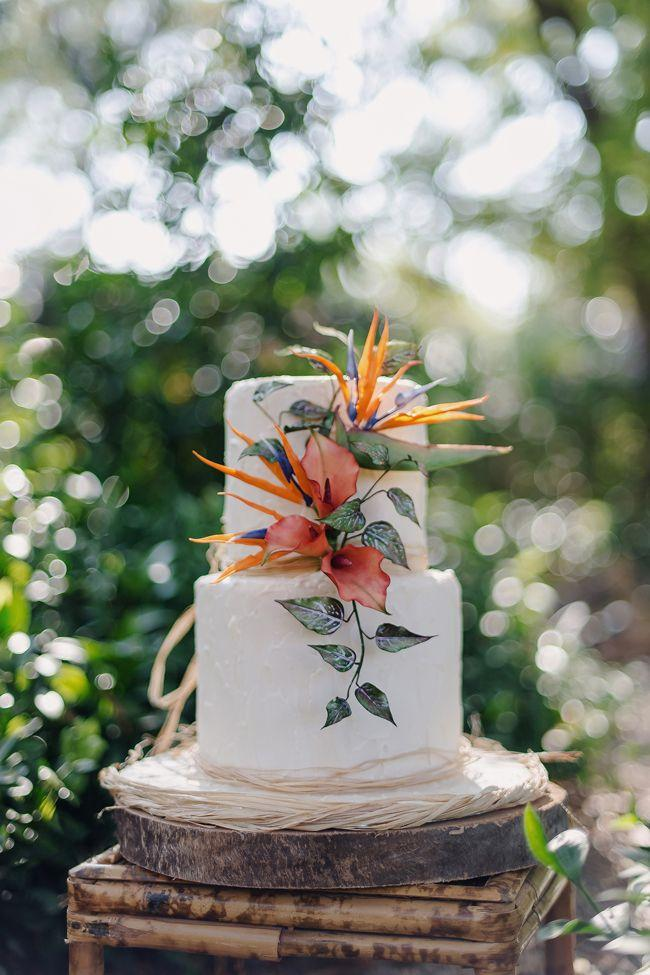 Wedding - Gauguin Inspired Tropical Wedding Inspiration