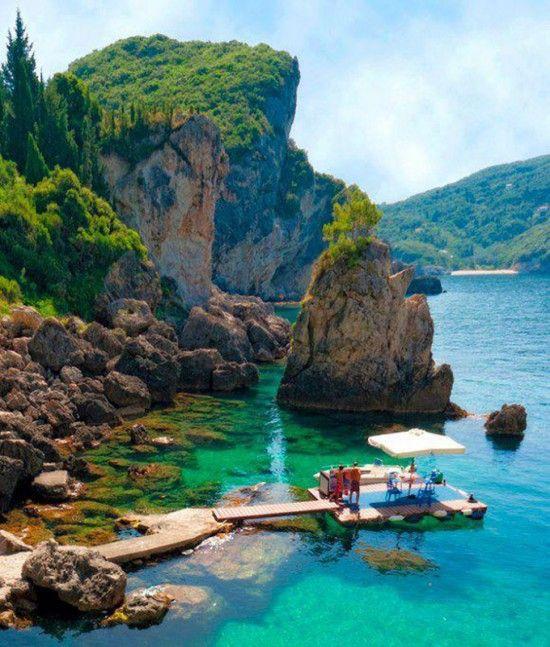 Hochzeit - La Grotta Cove, Corfu Island, Greece
