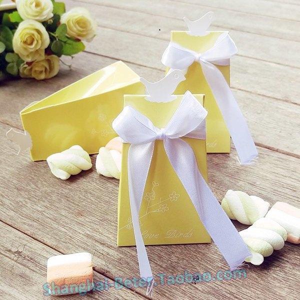 Wedding - Beter Gifts® Love Birds Elegant Icon Favor Box BETER-TH022