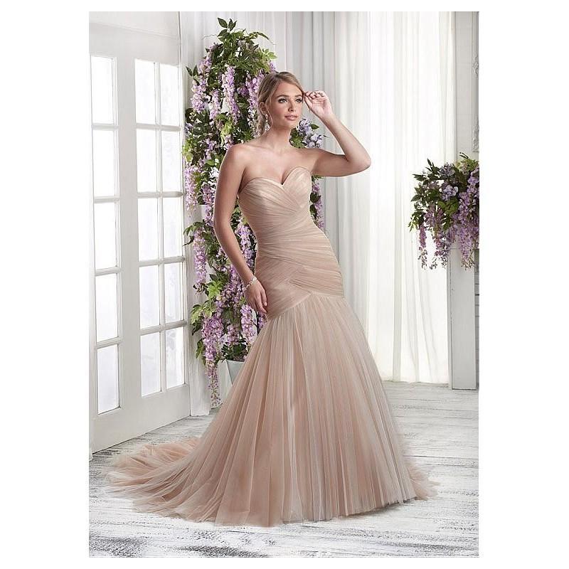 Hochzeit - Fabulous Tulle Sweetheart Neckline Mermaid Wedding Dresses with Beadings & Rhinestones - overpinks.com