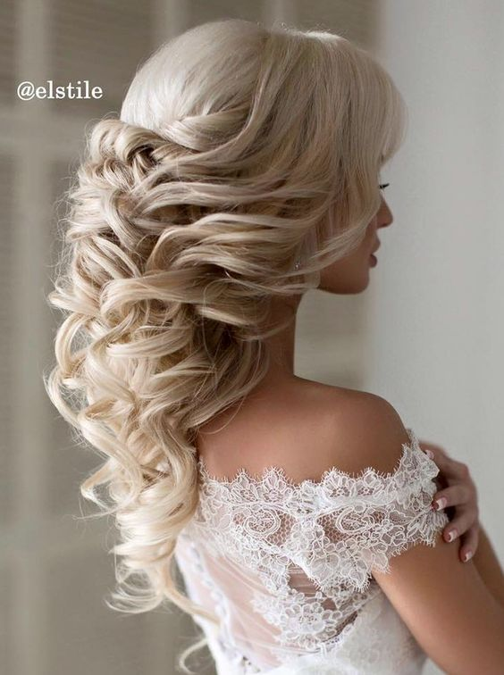 Hochzeit - Elstile Wedding Hairstyle Inspiration