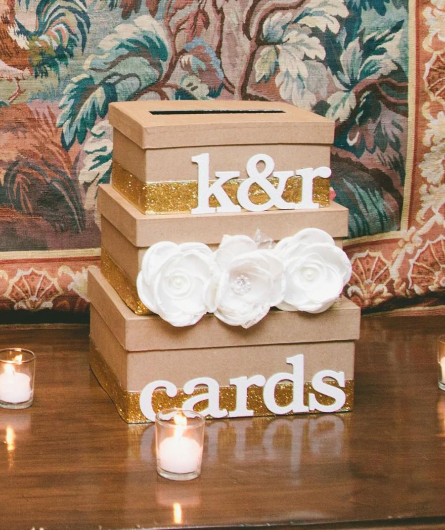 Mariage - Custom Cards Box