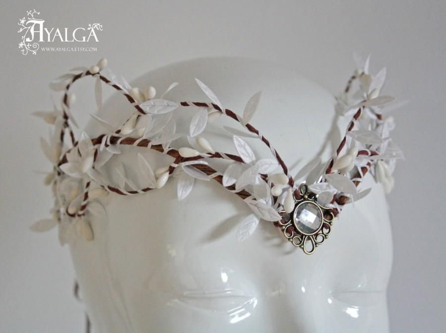 Düğün - elven bride tiara  - elven tiara - elvish crown