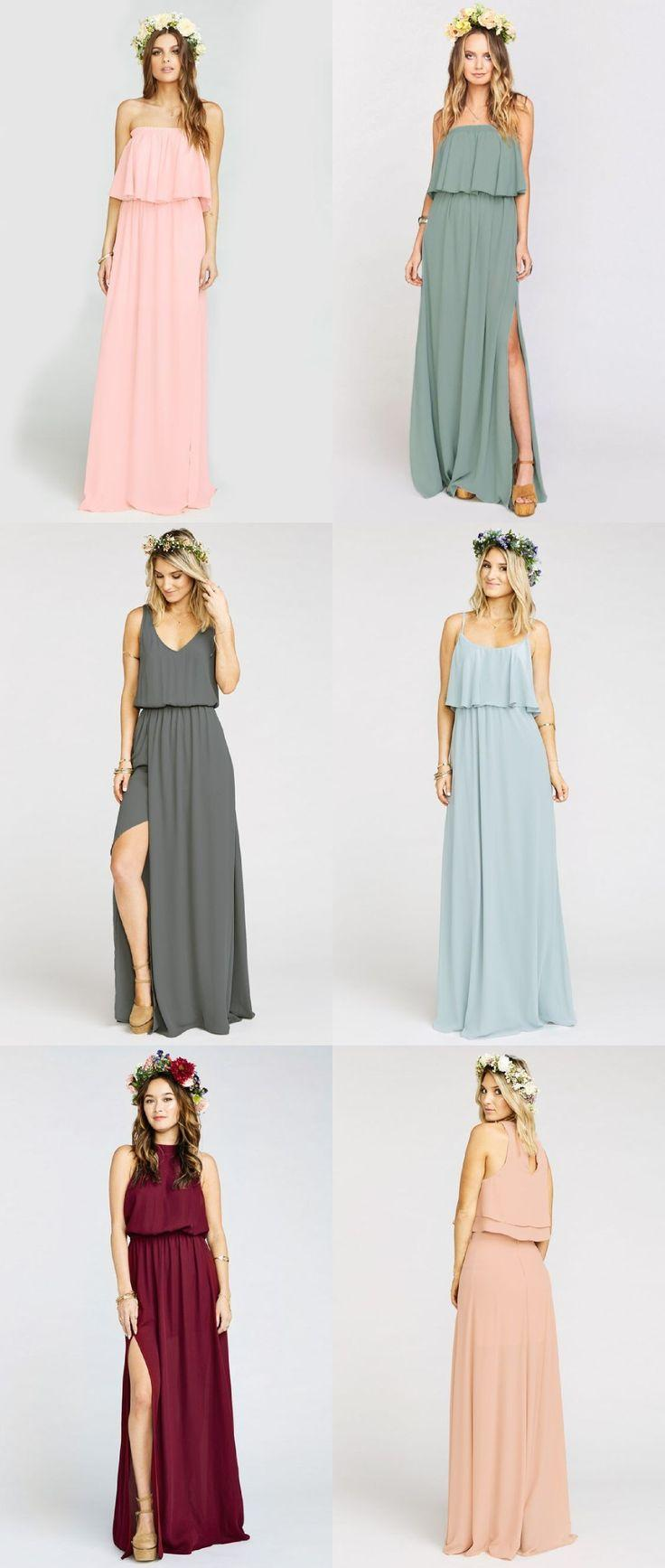 Wedding - Boho Bridesmaid Dresses