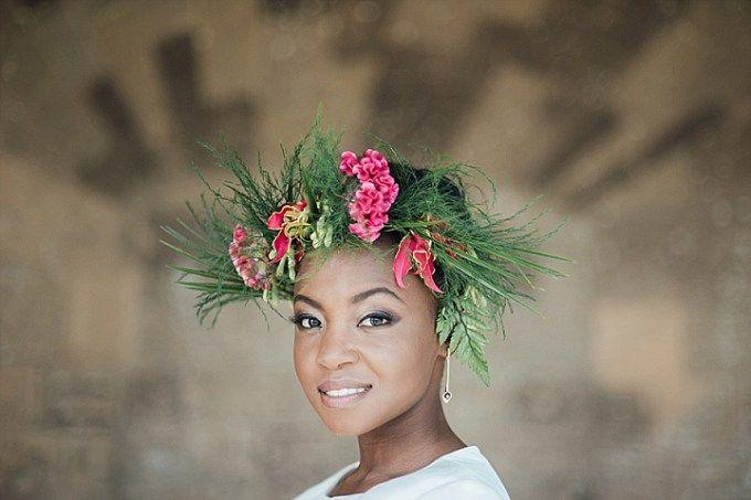 Hochzeit - Exotic Tropical Garden Wedding Inspiration