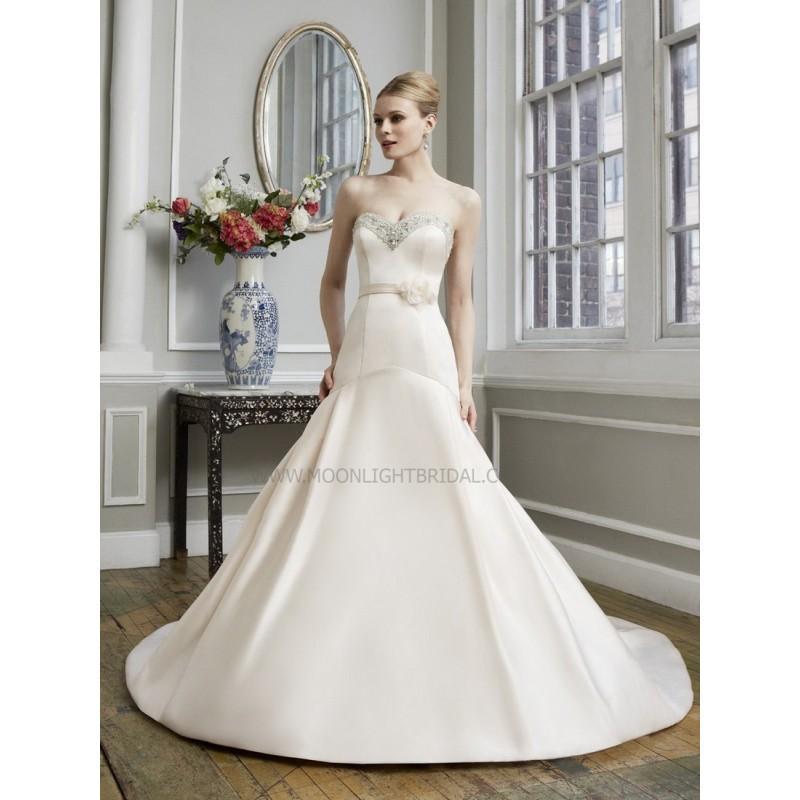 Свадьба - Moonlight Collection J6273 Bridal Gown (2013) (MN13_J6273BG) - Crazy Sale Formal Dresses
