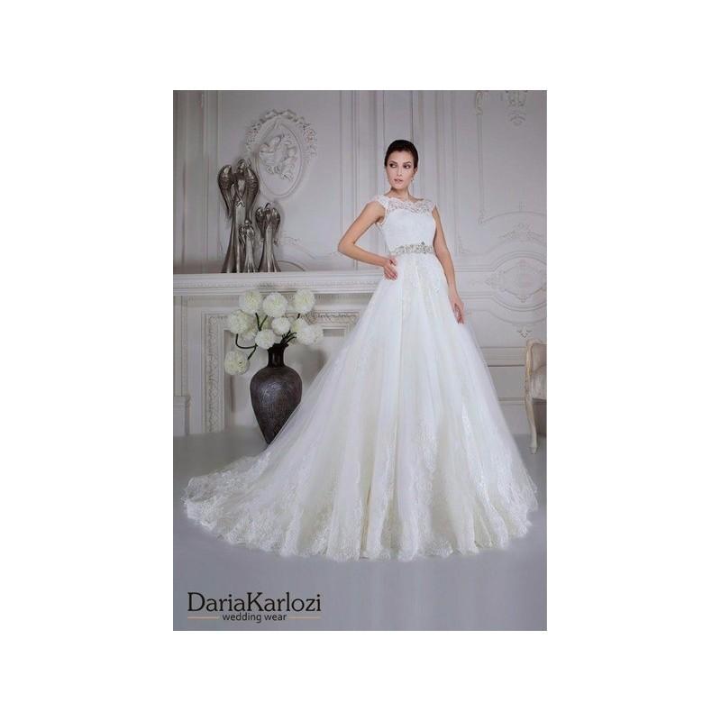 Mariage - Vestido de novia de Daria Karlozi Modelo 07026 Razez - 2016 Evasé Otros Vestido - Tienda nupcial con estilo del cordón