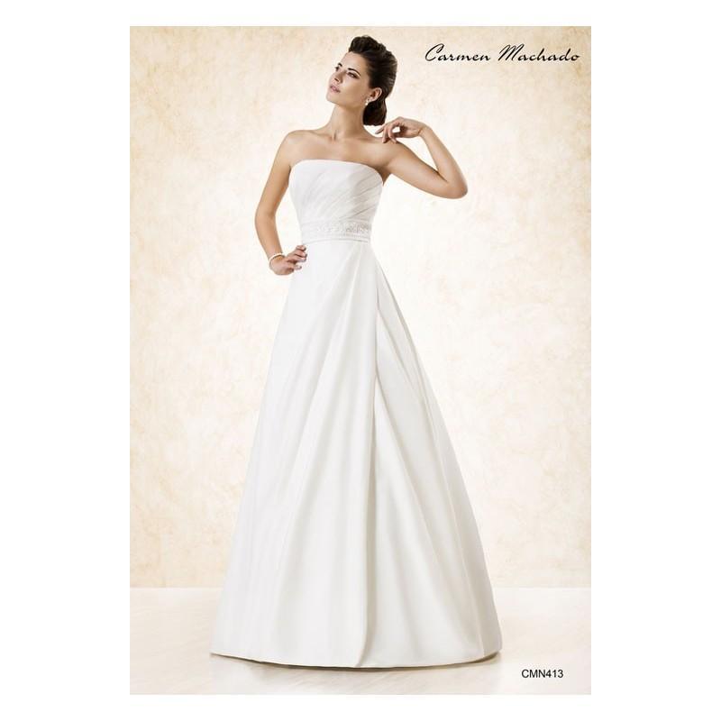 Wedding - Vestido de novia de Carmen Machado Modelo CMN413 - Tienda nupcial con estilo del cordón